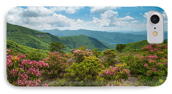 Craggy Gardens Blue Ridge Parkway Stunning Vista IPhone Case