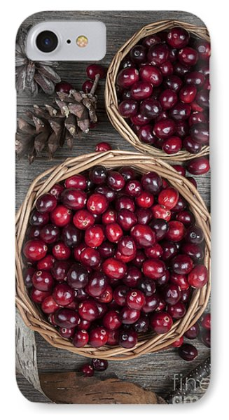 Cranberries In Baskets IPhone Case by Elena Elisseeva