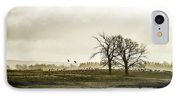 IPhone Case featuring the photograph Crane Hill by Torbjorn Swenelius