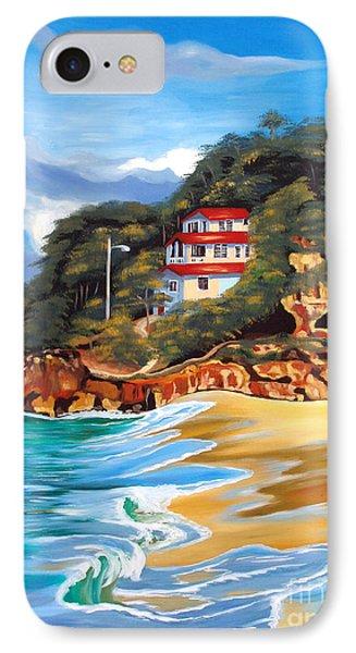Crash Boat Beach Phone Case by Milagros Palmieri