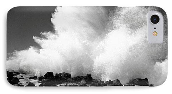 Crashing Wave - Bw Phone Case by Dana Edmunds - Printscapes