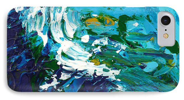 Crashing Wave Phone Case by Donna Blackhall