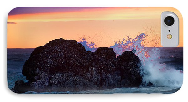 Crashing Wave IPhone Case by Jerry Cahill