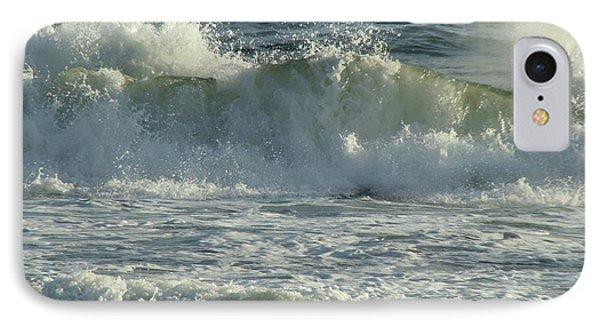 Crashing Wave Phone Case by Sandy Keeton