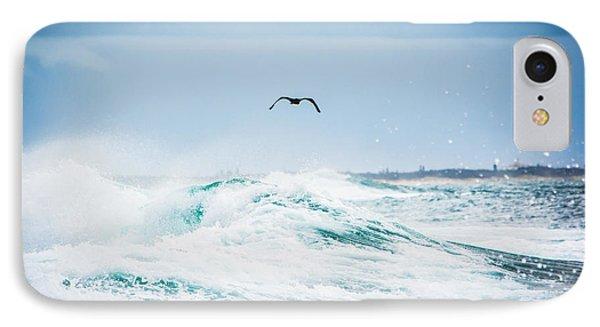 Crashing Waves Phone Case by Parker Cunningham
