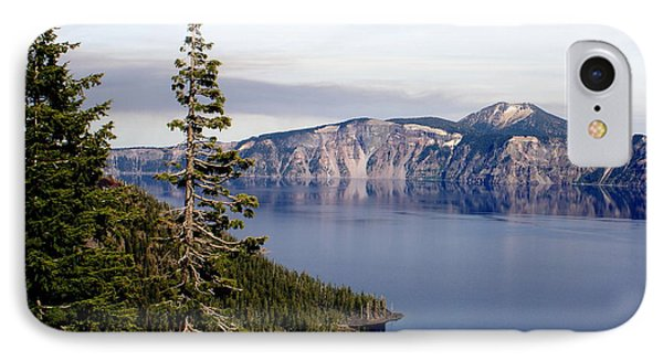 Crater Lake 3 Phone Case by Marty Koch