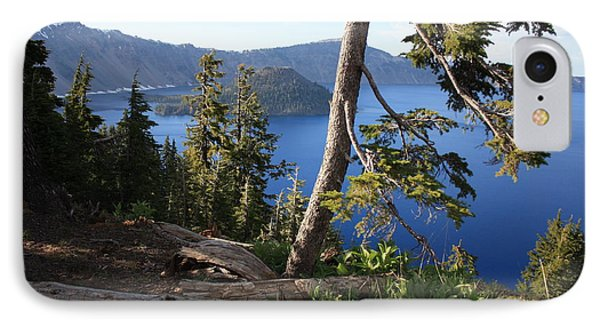 Crater Lake 9 Phone Case by Carol Groenen