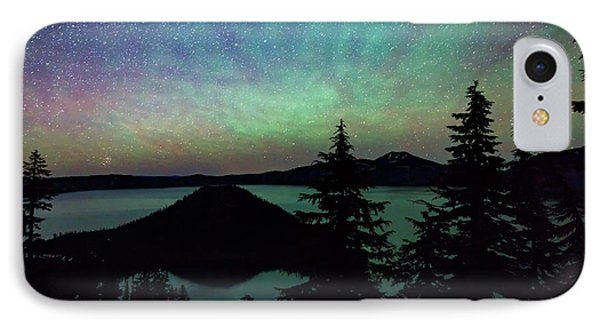 IPhone Case featuring the photograph Crater Lake Airglow by Cat Connor