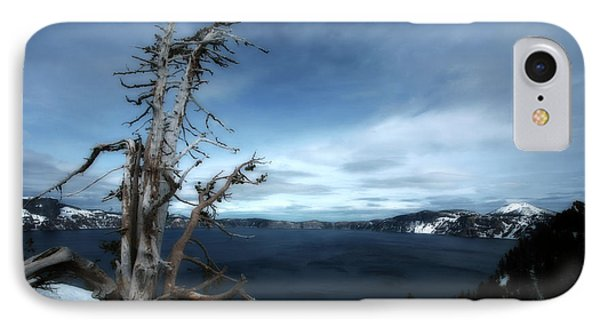 Crater Lake Phone Case by Bonnie Bruno