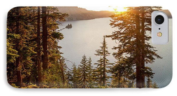 Crater Lake Phone Case by Brian Harig