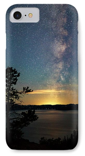 Crater Lake Milky Way IPhone Case