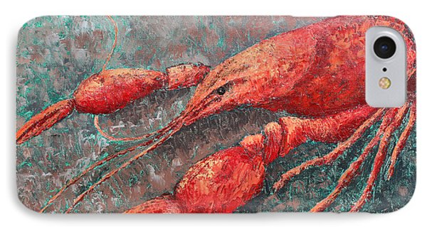 Crawfish Phone Case by Todd A Blanchard