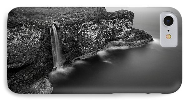 Crawton Cliffs IPhone Case by Dave Bowman
