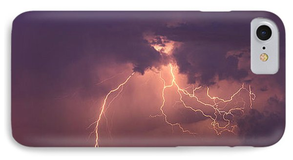Crazy Bolts IPhone Case by Darren  White