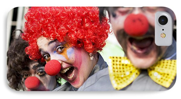 Crazy Circus Clowns IPhone Case