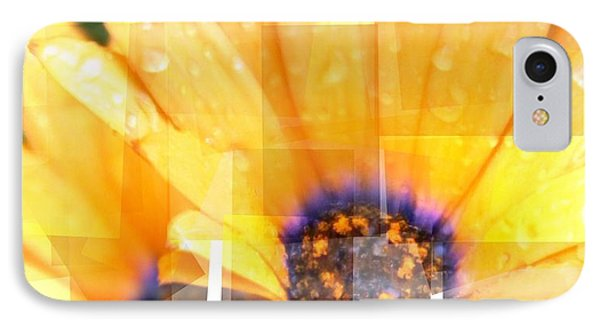 IPhone Case featuring the photograph Crazy Flower Petals by Amanda Eberly-Kudamik