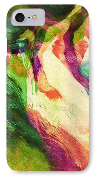 Crazy Modern Wild Life Abstract IPhone Case