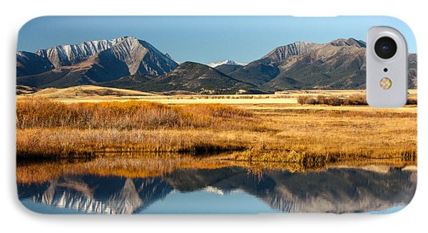 Crazy Mountain Reflections IPhone Case by Todd Klassy