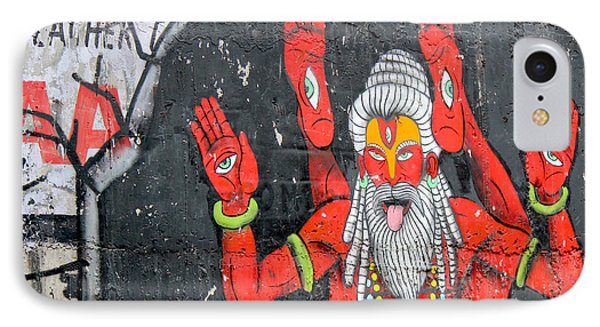 Crazy Yogi, Rishikesh IPhone Case