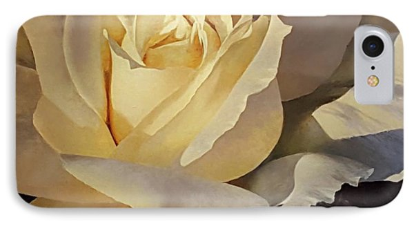 Creamy Rose IPhone Case
