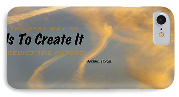 Create Greatness IPhone Case by David Norman