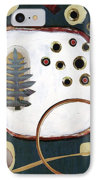 IPhone Case featuring the painting Creation by Michal Mitak Mahgerefteh