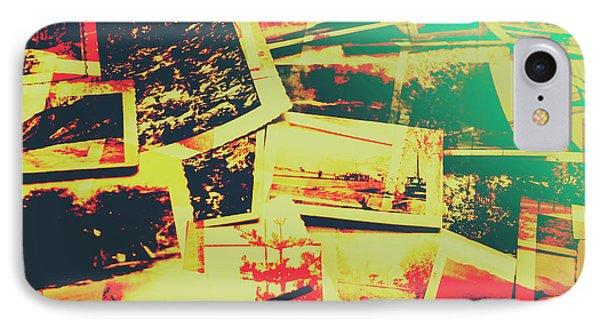 Creative Retro Film Photography Background IPhone Case