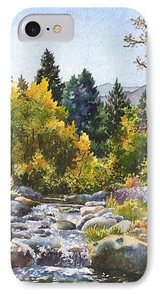 IPhone Case featuring the painting Creek At Caribou by Anne Gifford