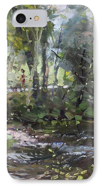 Creek At Three Sisters Islands IPhone Case by Ylli Haruni