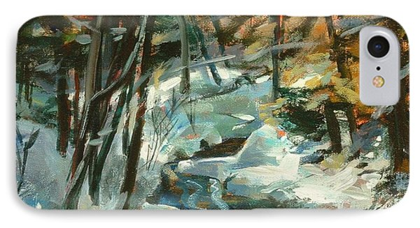 Creek In The Cold IPhone Case