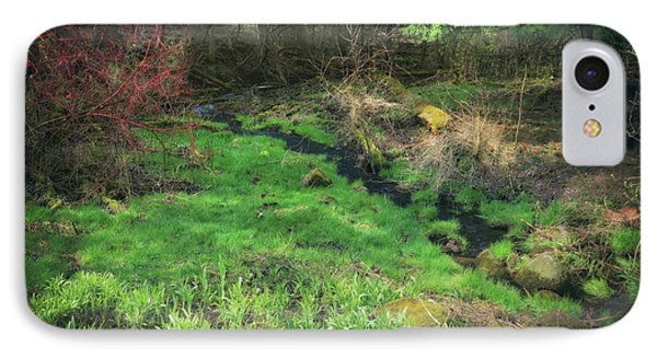 Creek - Spring At Retzer Nature Center IPhone Case by Jennifer Rondinelli Reilly - Fine Art Photography