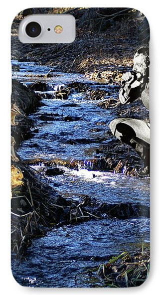 IPhone Case featuring the photograph Creekside Serenade By Ian by Ben Upham