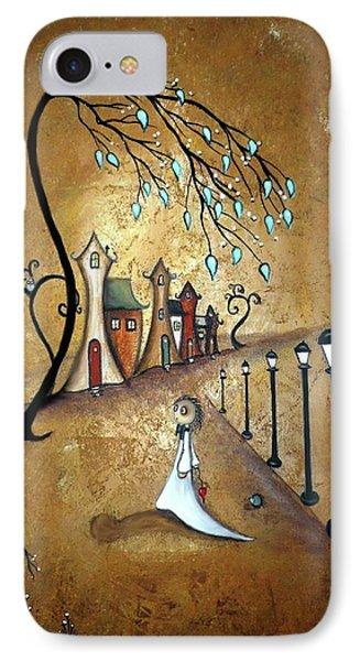 Creeper Village Phone Case by Charlene Zatloukal