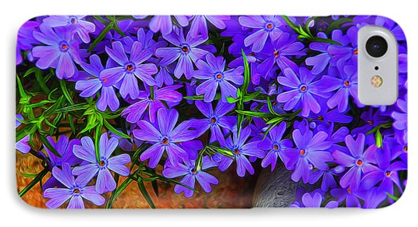 IPhone Case featuring the photograph Creeping Phlox 1 by Dennis Lundell