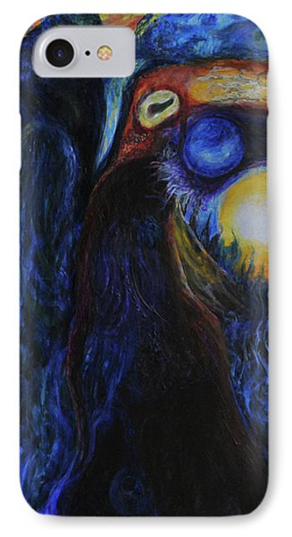 IPhone Case featuring the painting Creeping Plague by Christophe Ennis