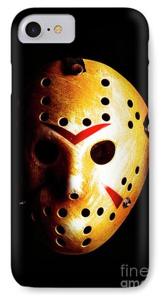 Hockey iPhone 7 Case - Creepy Keeper by Jorgo Photography - Wall Art Gallery