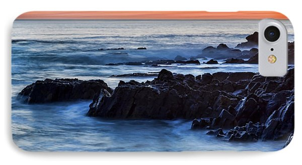 Crescent Bay Rocks IPhone Case by Kelley King
