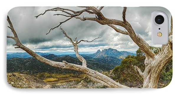 Cresta Valley - Mt Buffalo IPhone Case by Mark Lucey