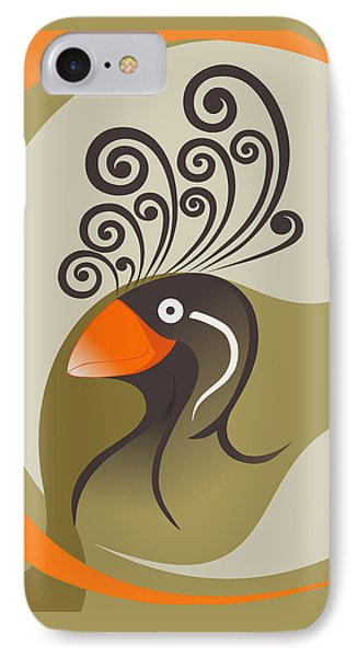 crestedAUKLET IPhone 7 Case by Mariabelones ART