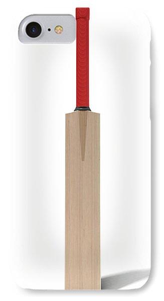 Cricket Bat IPhone 7 Case by Allan Swart