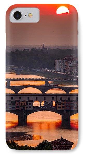 Crimson River IPhone Case by Giuseppe Torre