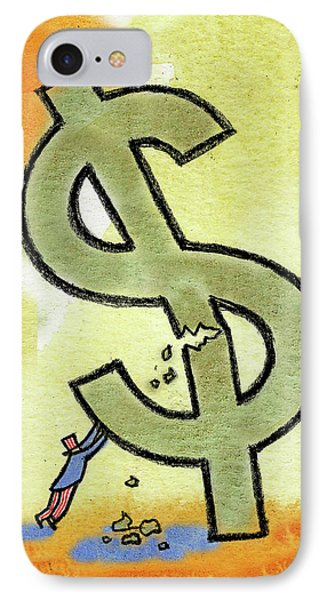 Crisis And Money IPhone Case