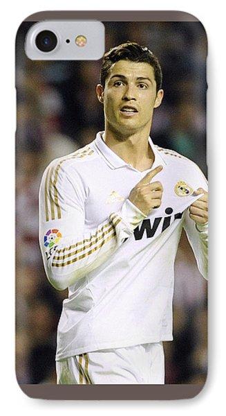Cristiano Ronaldo 4 IPhone 7 Case