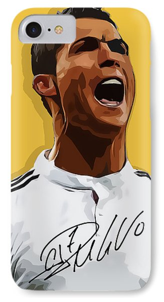 Cristiano Ronaldo Cr7 IPhone Case by Semih Yurdabak