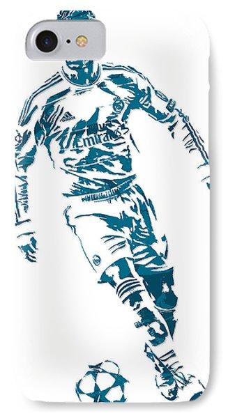 Cristiano Ronaldo Real Madrid Pixel Art 1 IPhone 7 Case
