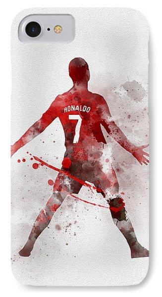 Cristiano Ronaldo United IPhone 7 Case