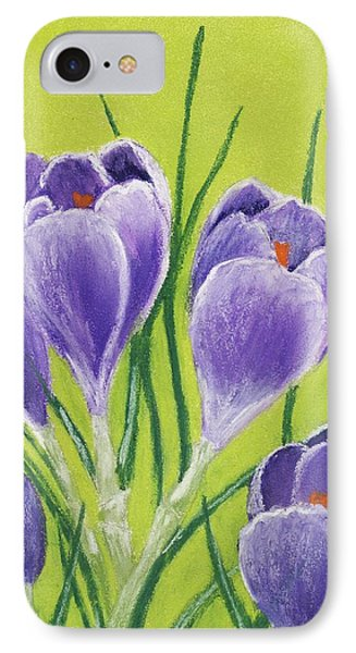 Crocus IPhone Case by Anastasiya Malakhova
