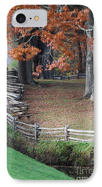Crooked Fence IPhone Case by Eric Liller