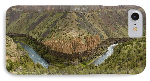 Crooked River Gorge Phone Case by Joe Hudspeth