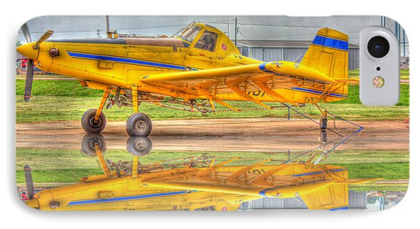 Crop Duster 002 IPhone Case by Barry Jones